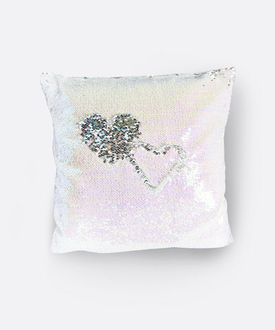 Shimmer Siren Pillow Cases - Seafoam Pearls