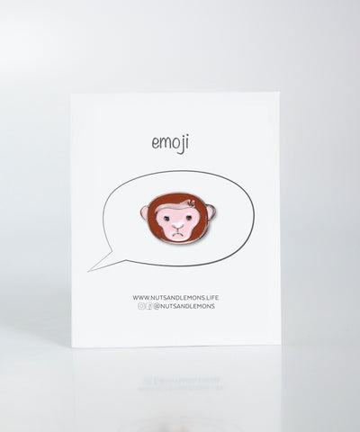 Emoji - Bored Monkey