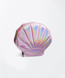 Holographic Shell Purse - Blush