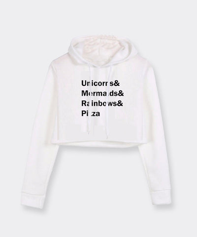 Best of All Worlds Crop Hoodie