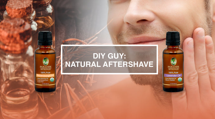 DIY Guy: Natural Aftershave