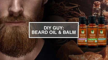 DIY Guy: Beard Oil & Beard Balm
