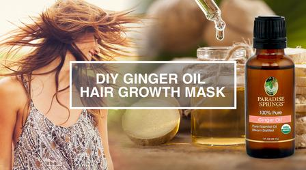 DIY Ginger Oil Hair Growth Mask