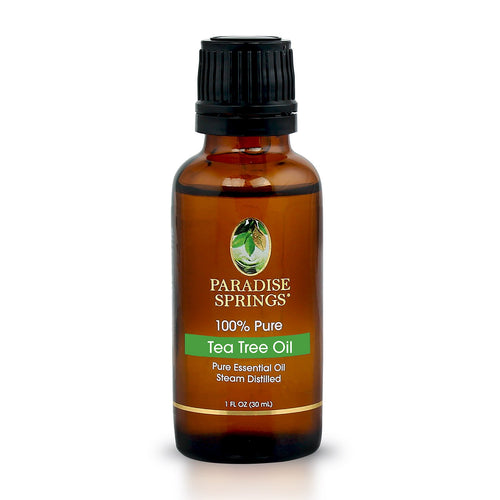 Paradise Springs Tea Tree Oil Bottle