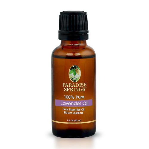 Paradise Springs Lavender Oil Bottle