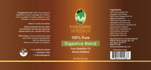Load image into Gallery viewer, Paradise Springs Digestive Blend Label
