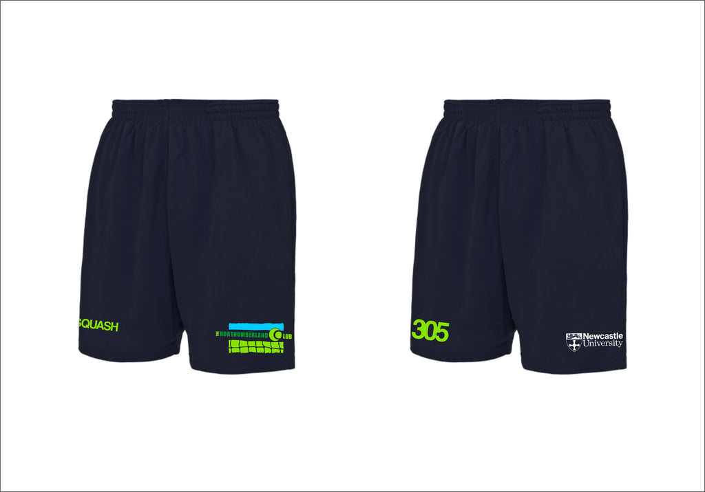 Northumberland Club Newcastle University Academy Squash Shorts
