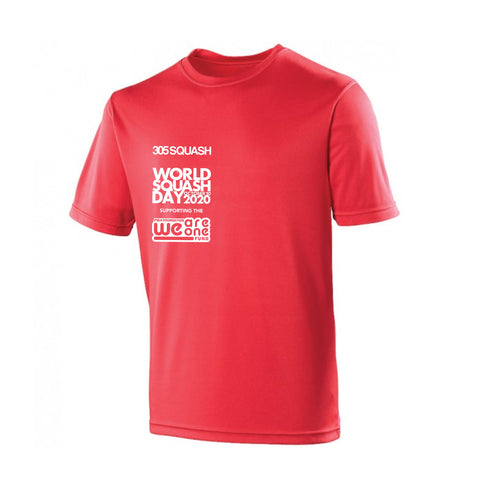 World Squash Day 2020 Kids Cool T