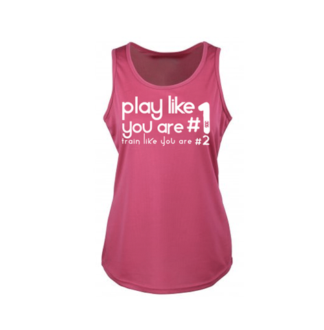 Womens Play Like #1 Cool Vest