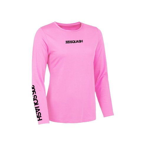 305SQUASH Long Sleeved Womens Cool T