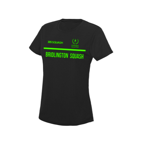 Bridlington Squash Club Womens Cool T