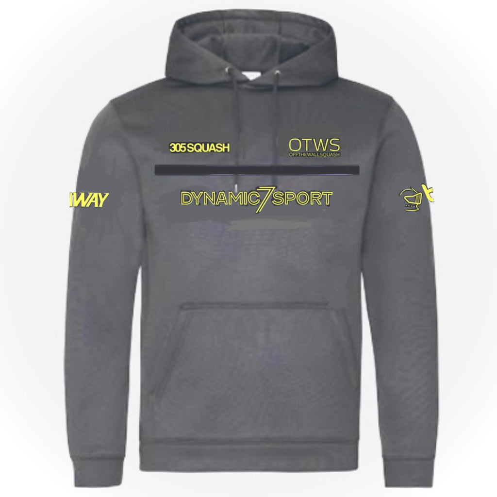 Daryl Selby 2020 Replica 305SQUASH Performance Hoody Charcoal