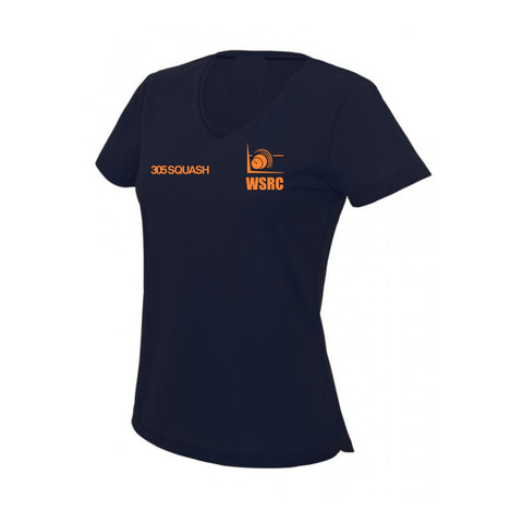 Wycombe Squash Womens V-Neck Cool T