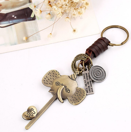 Elephant Key Chain Full Set!