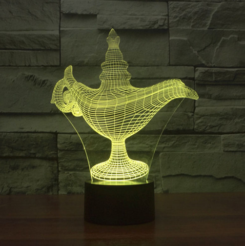 Awesome LED Aladdin Lamp