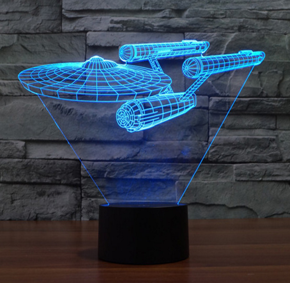 Epic Star Trek LED Lamp!