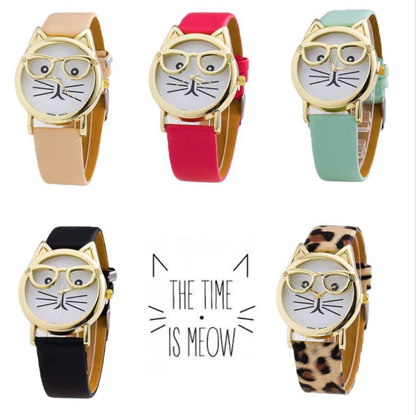 Meow is the time! Cutest Watch You'll Ever Own