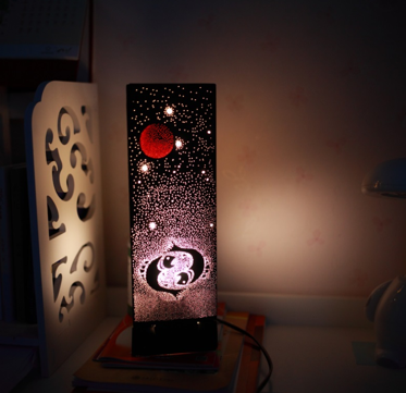 Beautiful Taurus Ornament Night Lamp