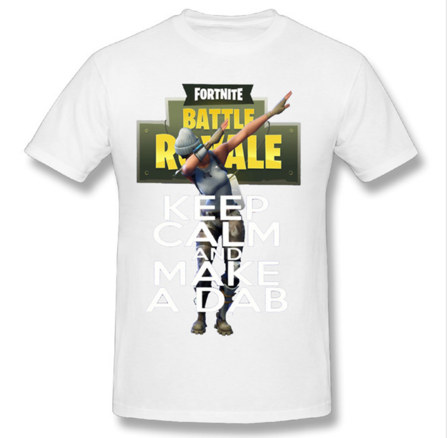 Fortnite Keep Calm and Dab Shirt