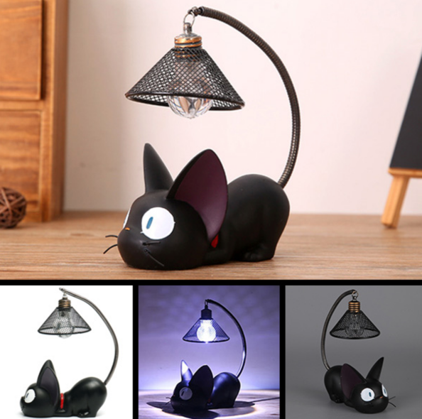 Cute Black Cat Night Lamp