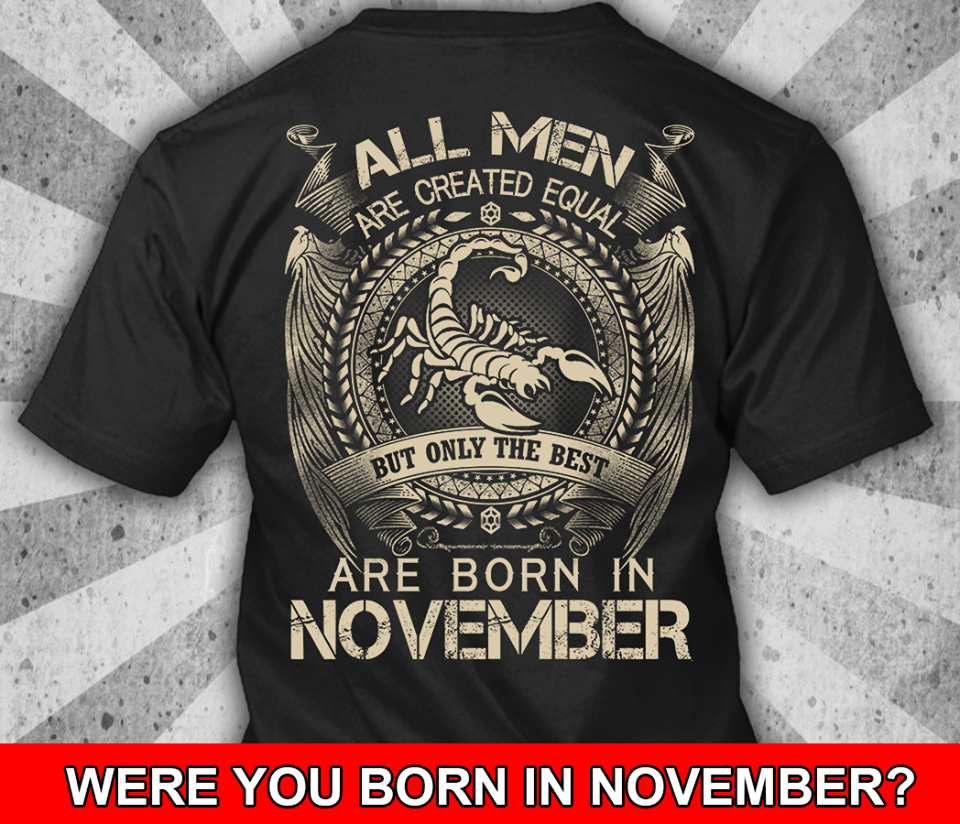 LIMITED EDITION November Shirt