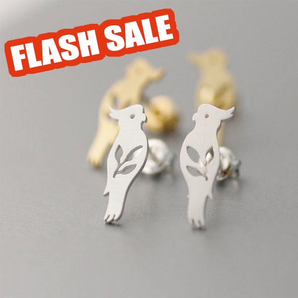 Cute Parrot Earrings!