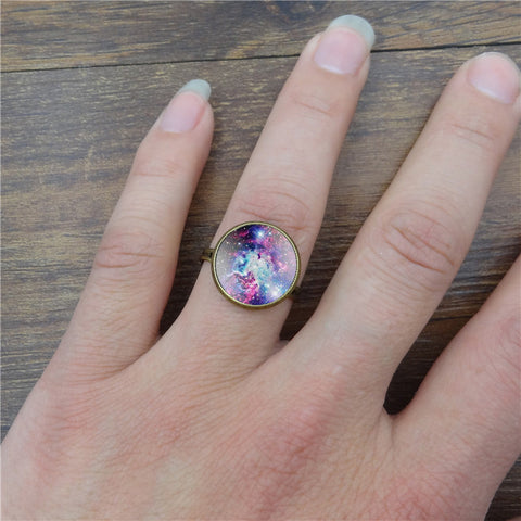 Galaxy Space Ring