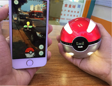 LED Pokemon Go Extra Batter Power Bank!