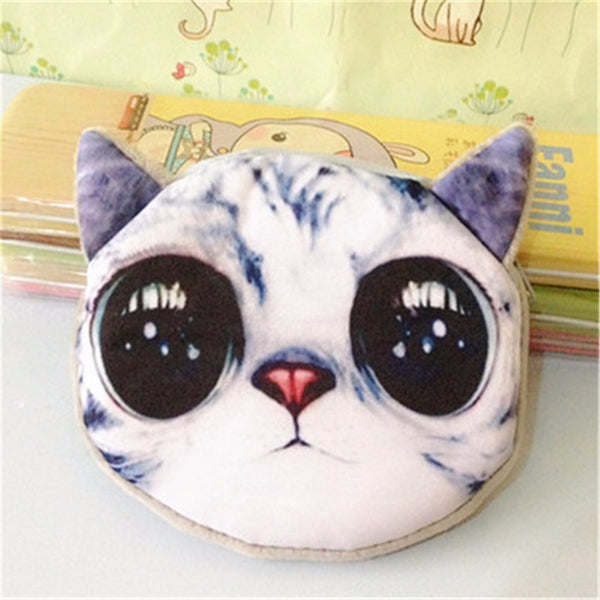 dorable Cat Coin Purses for Ladies
