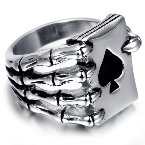 Ace of Spades Wicked Ring