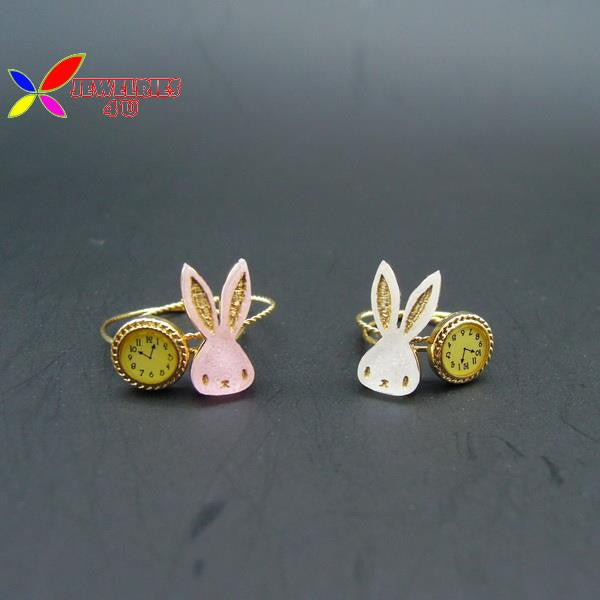 Cute Rabbit Finger Rings!