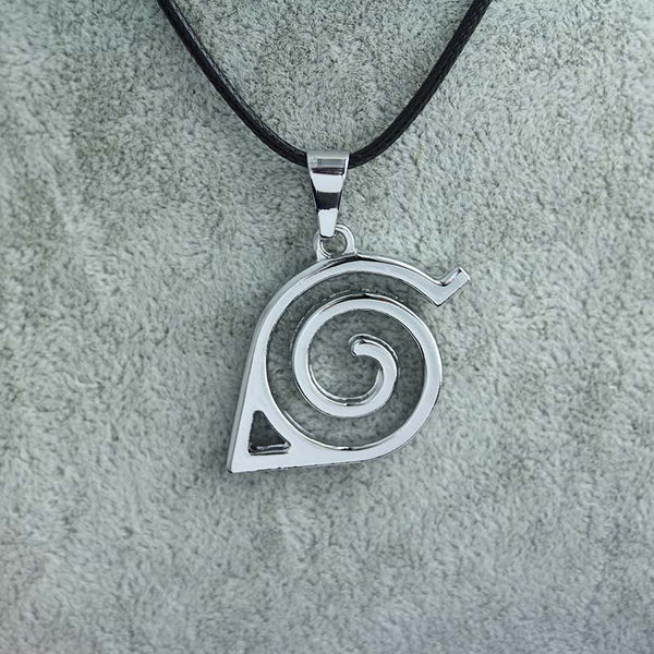 Konoha Shinobi Leaf Symbol Necklace