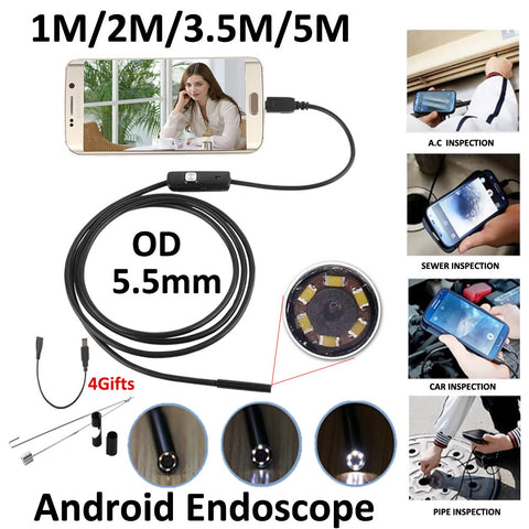 Android USB Endoscope Camera Waterproof 720P Camera!