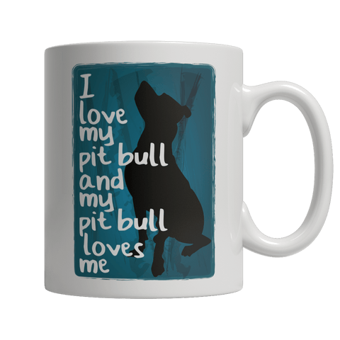 Limited Edition - I Love My PitBull And My PitBull Loves Me - DogCore.com
