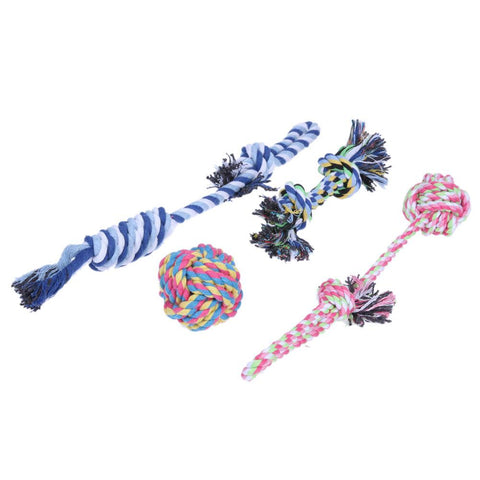 4pcs/set Rope Toys - DogCore.com