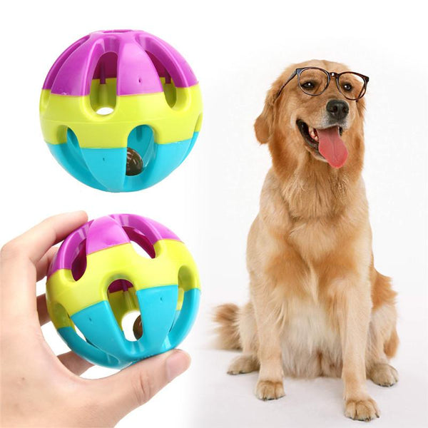 Jingle Ring Ball Pet Toy - DogCore.com