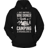 Wine Drinker With A Camping Problem - DogCore.com