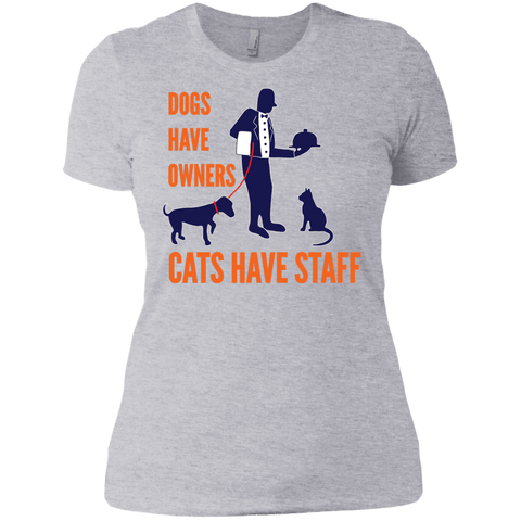 Ladies Cat Tee - DogCore.com