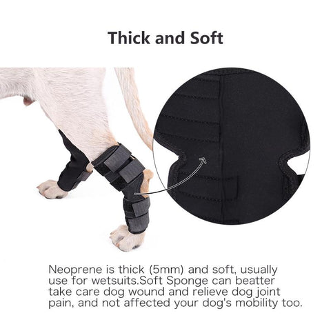 DC Dog Knee Hook  Brace - DogCore.com