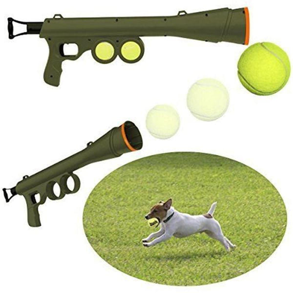 DC Dog Toy Tennis Ball Launcher - DogCore.com