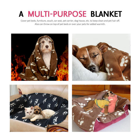 Fleece Dog Blanket - DogCore.com