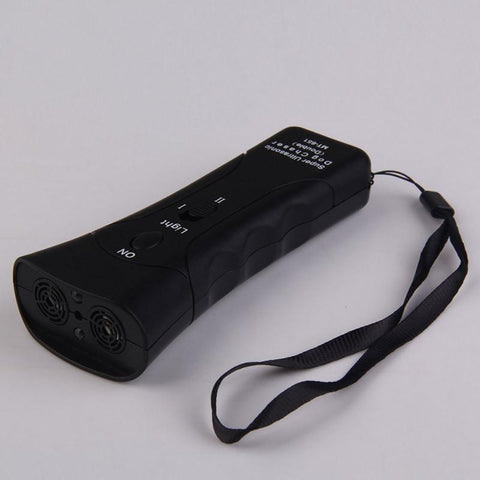 Ultrasonic DogTrainer LED Flashlight - DogCore.com