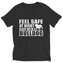 Limited Edition - Feel safe at night sleep with a bulldog - DogCore.com