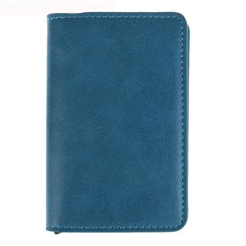 Slim Card Holder RFID Leather Wallet - DogCore.com
