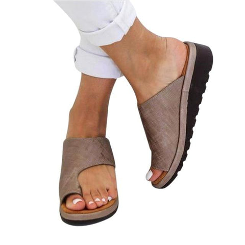 WOMEN'S COMFY PLATFORM SANDAL SHOES - STYLISH & CHIC! - DogCore.com