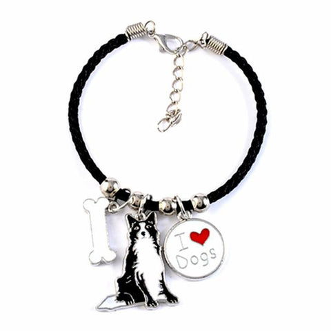 I Love My Dog Bracelet - DogCore.com