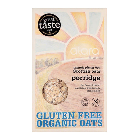 Alara Organic Scottish Oats Gluten Free Porridge 500g
