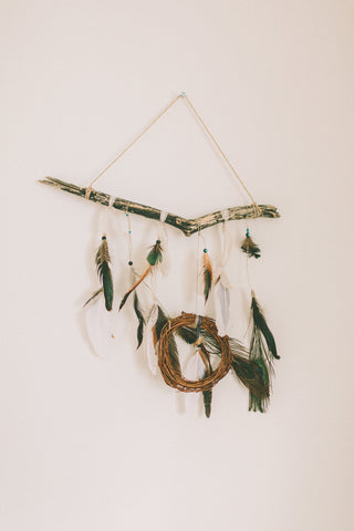 dream catcher bohemian kids room