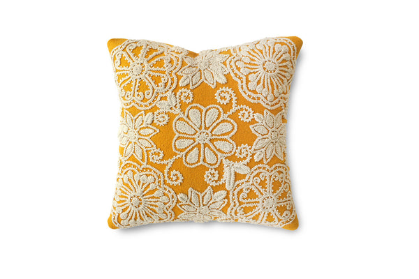FLOR EMBROIDERED CUSHIONS