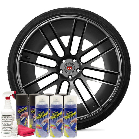 DYC Performix Plasti Dip Gloss Anthracite Grey Wheel Kit EVERYTHING YOU NEED